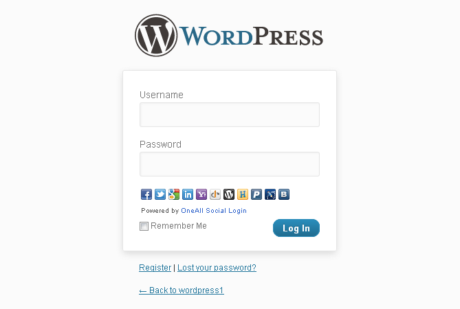 Membuat custom login di wordpress