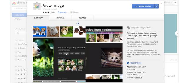 Cara Mengembalikan Tombol View Image di Pencarian Google Image