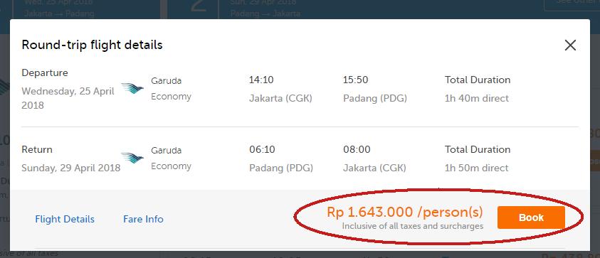 Perbandingan harga termurah Skyscanner dengan penyedia layanan pemesanan tiket online lain