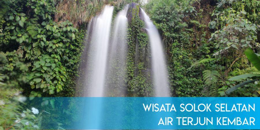 Wisata Solok Selatan, Air Terjun Kembar yang Tersembunyi
