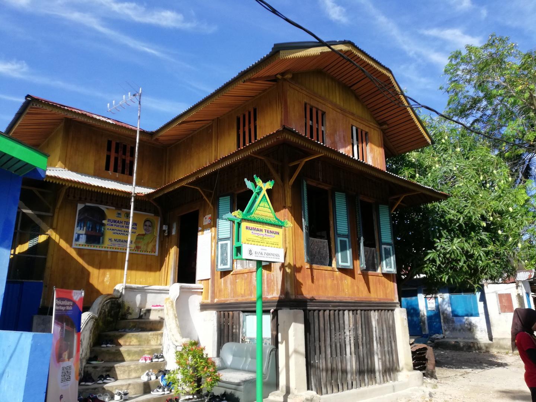 Rumah tenun Kampung Bandar