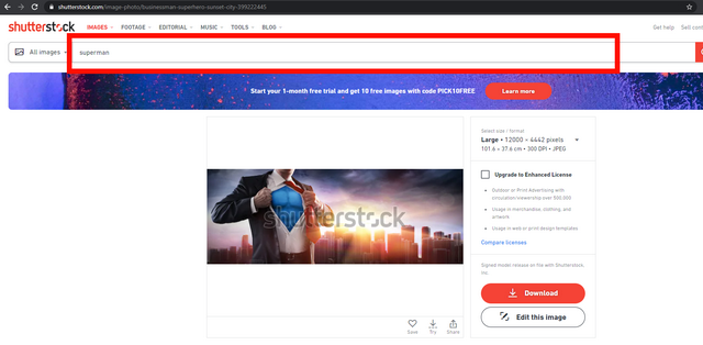 cara download shutterstock gratis