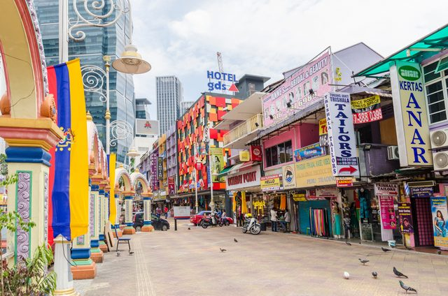 Little India tempat belanja murah di Kuala Lumpur