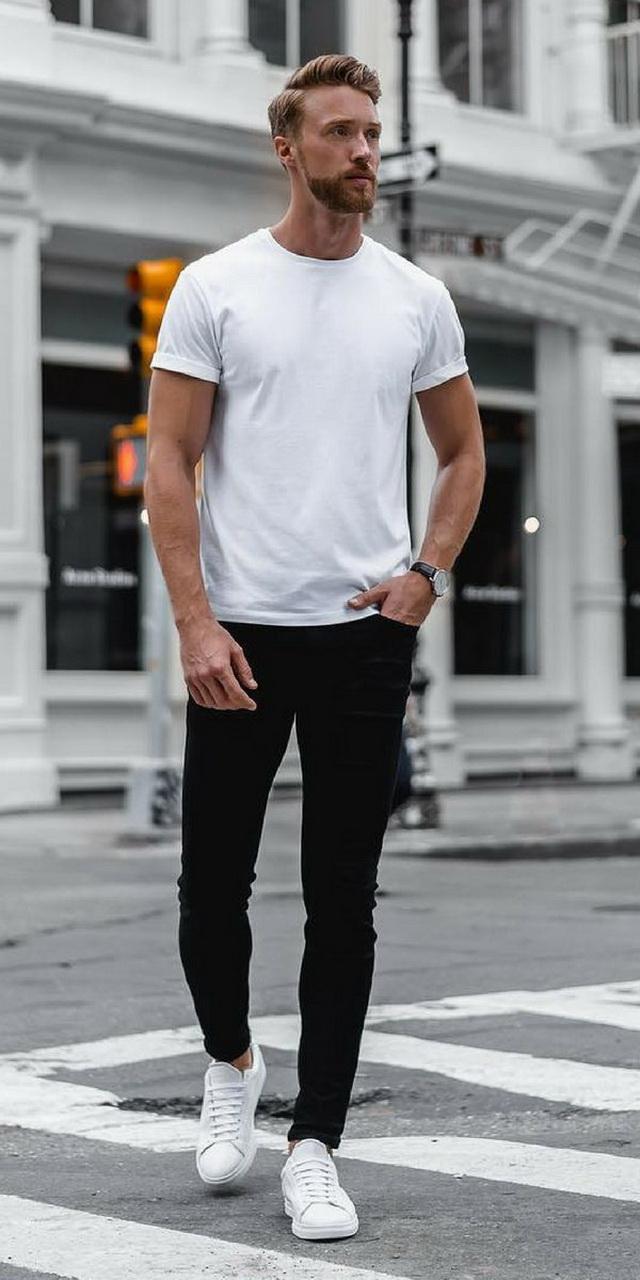 style hitam putih sederhana