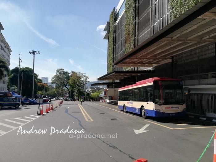 liburan ke penang menggunakan rapid Penang bus