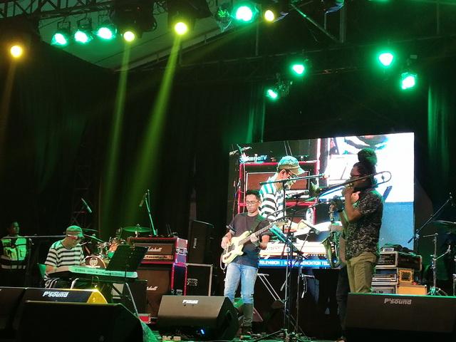 Penampilan Idang Rasjidi & Syndicate di Bono Jaz Festival 2019