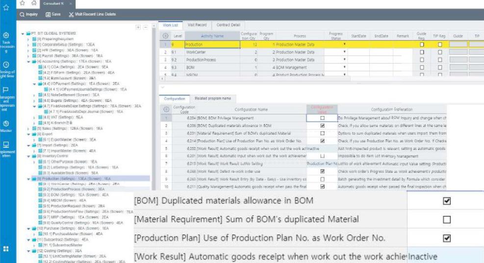 Software Sistem ERP SystemEver berdasarkan fitur