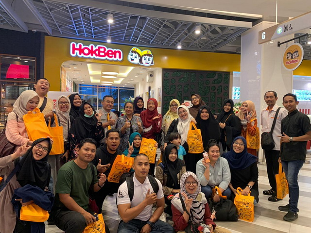 bersama blogger pekanbaru