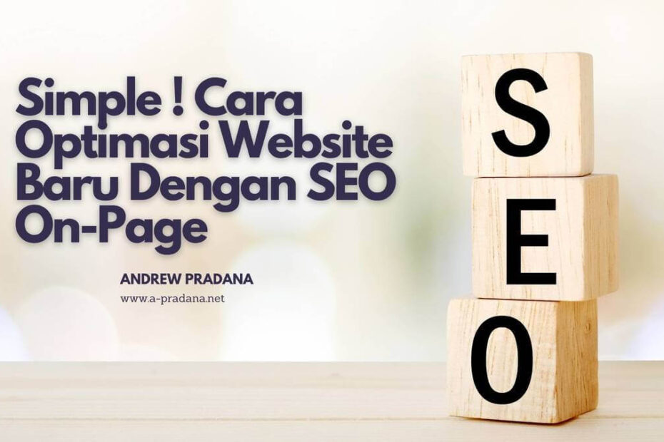 optimasi seo on-page