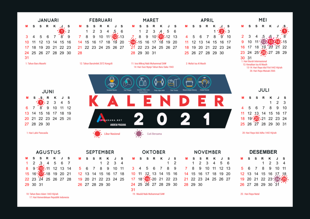 download kalender 2021 indonesia