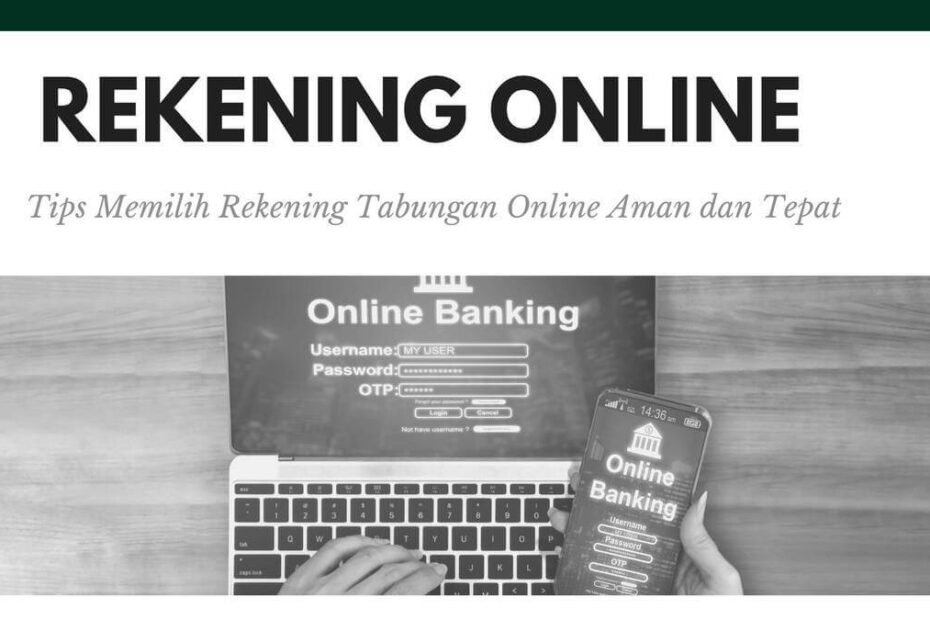 rekening tabungan online